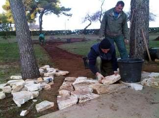 Postavljanje kamena