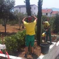 Privatni vrt, izvedba po projektu